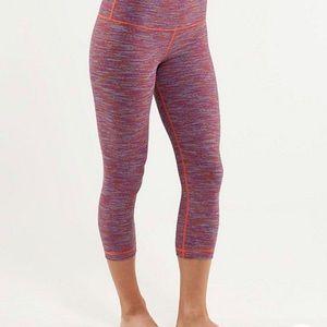 🔥30%OFF🔥LULULEMON multi colored leggings